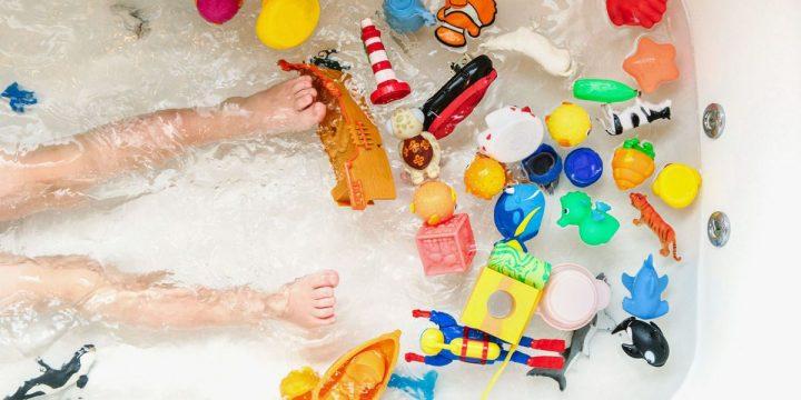 Zabawa podczas kąpieli